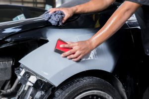 smart car paint repair sanding